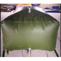 Cheap Army 3000L Gasoline Bladder Fuel Tank Collapsible Water Bladder Tank For Truck for sale