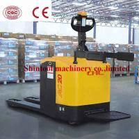 Buy cheap 2.0Ton Electric Powered Pallet Truck With 600mm Load Center CBD20-100 / CBD20 from wholesalers