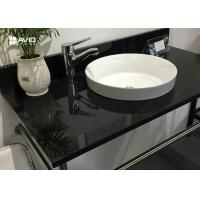 Cheap Nero Assoluto Polished Granite Vanity Countertops Bacteria Resistance Hard Surface for sale