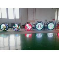 Cheap P4.6 P8 Circular Creative LED Screen Store / Bar Advertising With App Control for sale