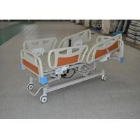 Cheap CPR Function Clinic Electric Bed With collasible ABS Side Rails for sale