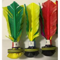 China DIY Peteca--the first feather replaceable peteca in the world on sale