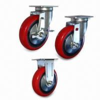 Cheap Casters with Load Capacity from 100 to 170kg, Used for Transmission Machinery for sale