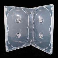 Cheap 22mm Clear DVD Case for 4 Discs, Can Easily Insert and Take Out Discs for sale