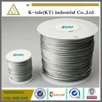 Cheap 7x7,7x19,6x19+FC/IWS rope Galvanized Aircraft Cable/Stainless Steel Wire Suppliers/Steel Cable Accessories for sale