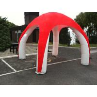 Cheap Duarable PVC Inflatable Tent With 4 Legs , Customzied X - Pod Inflatable Spider Tent for sale