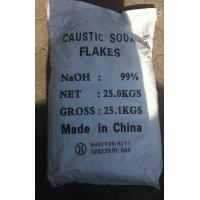 China Industrial Grade Sodium Hydroxide Caustic Soda Flakes / Sodium Hydroxide NAOH on sale