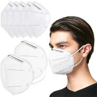 Cheap High Breathability KN95 5 Ply Face Mask Disposable Non Woven Face Mask for sale