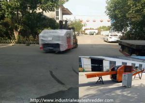 China Hygiene Nursing Pad Diapers 2mm Industrial Waste Shredder on sale