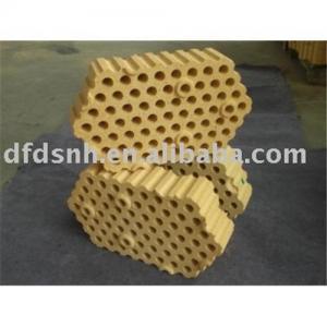 Cheap 65 hole high alumina refractory brick for sale