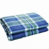 Cheap Picnic/Camping Blanket with Front Fleece Fabric and Waterproof Back PEVA for sale