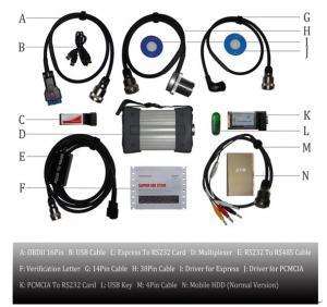 Cheap Super MB Star C3 Mercedes Benz Diagnostic Scanner , Vehicle Diagnostic Tool for sale