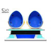 Cheap Fashion Investment 9D Egg VR Cinema 1 / 2 / 3 Seats Color Customized For Adult for sale