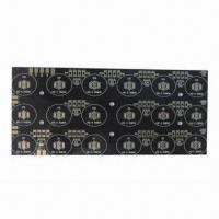 Buy cheap Single-sided aluminum base PCB, suitable for LED wash wall lamp from wholesalers