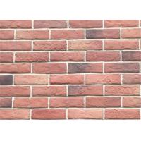 Cheap Decorative Interior Thin Brick Panels / Wall  Building Materials With Turned Color 210*55 wholesale