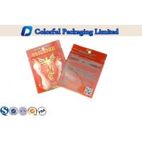 Buy cheap Aluminum Foil Ziplock Laminated Pouch For Herbal Incense Packing from Wholesalers