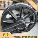 Cheap Idler Assy Guide Wheel for HITACHI KH100 Crawler Crane for sale