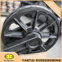Cheap Quality Undercarriage Part Idler Assy Guide Wheel for Hitachi KH70 Crawler Crane for sale