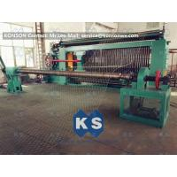 Cheap Hexagonal Wire Mesh Machine Woven Wire Mesh Machinery With 95% Aluminium Alloy Wire wholesale