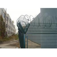 Cheap High Security Wire Metal Fence , 3 Foot Wire Fence Stadium Expanded Y Post wholesale