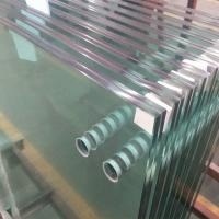 Buy cheap 13.52mm clear tempered laminated glass panels for interior frameless glass from wholesalers