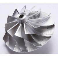 Buy cheap Forged 5 axles CNC fully machined aluminum billet compressor wheel for Various from wholesalers