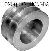 Cheap Customized Aluminum Timing Pulleys , CNC Machining Aluminum V Belt Pulley wholesale