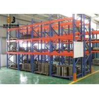 China Steel Powder Coated Multi-Level Ral System Color Pallet Racking Types Light Duty Shelving on sale