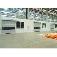 Cheap Industrial Transparent Windows Commercial High Speed Door Stainless Steel Frame wholesale