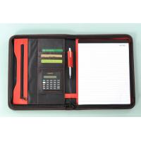Cheap business file folder with calculator for sale