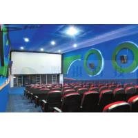 Cheap 4D Cinema Equipment Electric Pneumatic 3 Seat / 4 Seat Motion Chairs Leather for sale