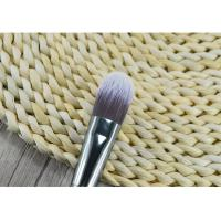 Cheap Wooden Handle Synthetic Fiber Foundation Brush / Angular Makeup Brush for sale