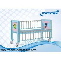 Buy cheap Children Patient Bed , Pediatric Bed With Enameled Steel Side Rails from Wholesalers