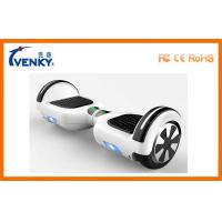 Cheap Fast Motorized Scooter Board 2 Wheeled Self Balancing Electric Vehicle with LED light for sale