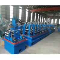 China Natural Gas ERW Pipe Mill Equipment With High Speed Tube Welding on sale
