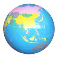 Personalized Pvc Inflatable Globe Beach Balls With Earth ...