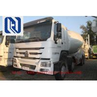China 6x4 HOWO 9m3 10M3 Concrete Mixer Truck With Closely Hydraulic System on sale
