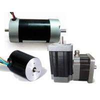 Cheap 2 Poles Permanent Magnet Brushless / Brushed Dc Electric Motor , 5w - 1200w for sale