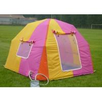 Cheap Colourful Inflatable Camping Tent / Inflatable Air Tent for sale