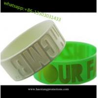 Cheap HOT Sale! Custom Design Colorful silicone wristband, best printed rubber wristband for sale