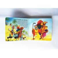 Cheap Modern Pop Up Book Printing , Book Cover Printing Services Gloss Lamination for sale