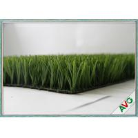 Cheap Fire Resistance Football Artificial Turf With 60 mm Pile Height , Artificial Grass For Football for sale