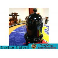 Cheap Security Fair Casino Game Accessories Black Color Automatic / Manual Dice Cup for sale
