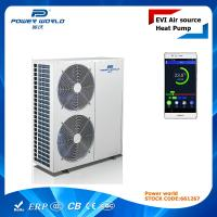 Cheap ErP A+ Air To Water EVI High COP Heat Pump With PW Cloud Remote Control Function 19.3kw for sale