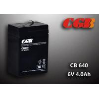 Cheap CB640 No Leaking Sealed Lead Acid Battery 6v 4ah , High Efficiency Ups Battery wholesale