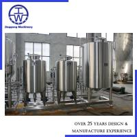 Cheap Polishing 0.4um CIP Cleaning System Beer Production Line Equipment Automatic Control for sale