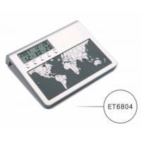 China World Time Clock/LCD Clock ( ET6804 ) on sale