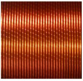 Film Sintering Enamel Coated Copper Wire For Motor Winding High Power