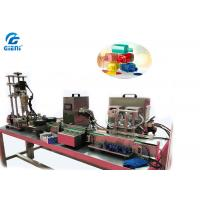 Cheap Peristaltic Pump Type Nail Polish Making Machine With Capping Air Source Driven for sale