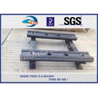 Quality 4 Holes BS80A Railway Fish Plate Rail Joint Bars steel fish plates With Plain Colors wholesale